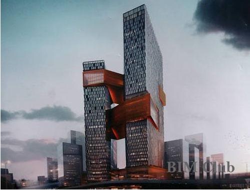腾讯滨海大厦实现精准对接 BIM助其解决施工难点