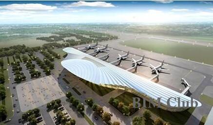 中建三局承建的武汉天河机场T3航站楼-BIM技术助推中建三局机场建设