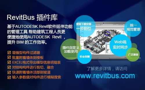 毕马科技RevitBus插件库介绍