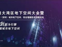 深圳市天健集团联合主办2019粤港澳大湾区地下空间大会