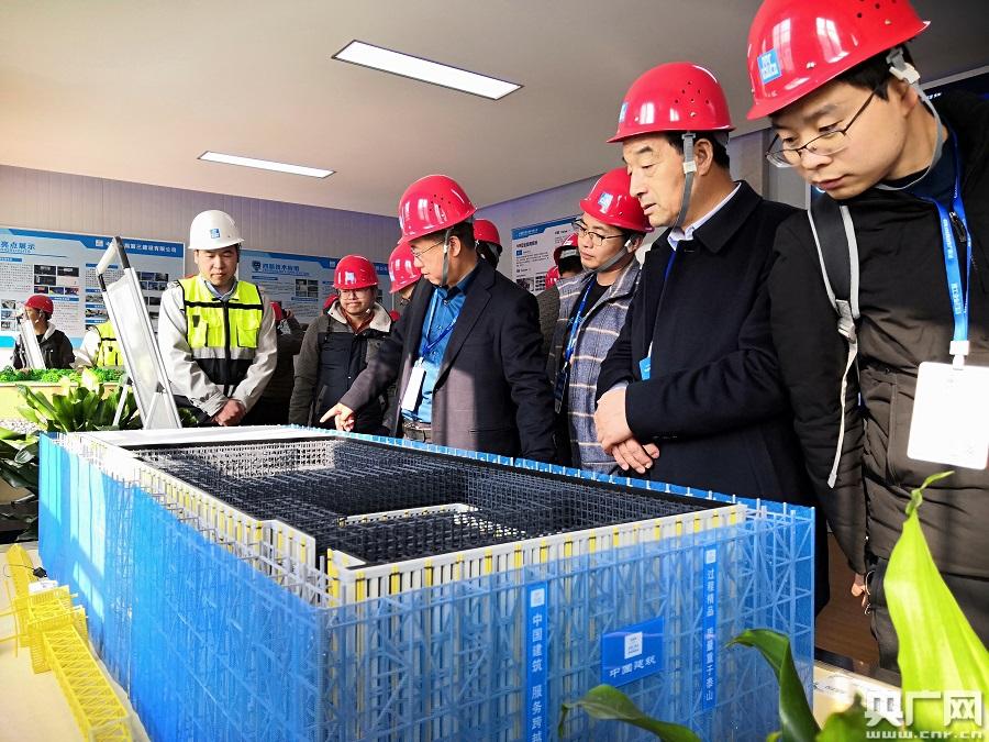 中建四局陕西沣东新城医院迎来2000人观摩BIM项目成果