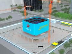 施工深化BIM模型-陕建五建星河湾(含创优施工现场样板模型)